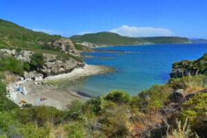 Cumpoltitu beach Sardinia